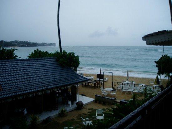 Thaproban Beach House: ホテルの目の前のビーチ