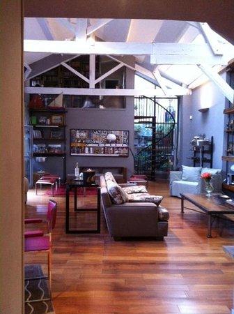 Chambres d'Hotes d'Endoume : Salon