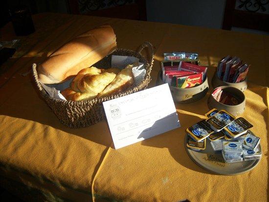 Rotui Apart Hotel: Desayuno real