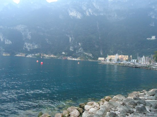 Hotel Villa Giuliana: good view if weather clear