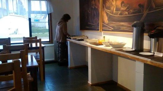 Hotel Hallef: Desayuno Buffet