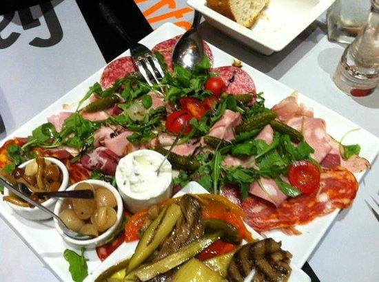 La Gazzetta : Antipasti pour 2, un repas en soi