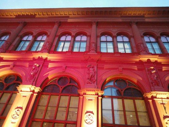 Art Museum RIGA BOURSE : Световой наряд