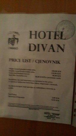 B&B Divan: Divan hotel