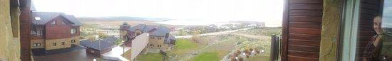 Imago Hotel & Spa: Vista desde habitación al Lago Argentino
