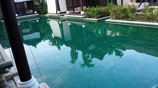 Anantara Lawana Koh Samui Resort: Pool outside our room