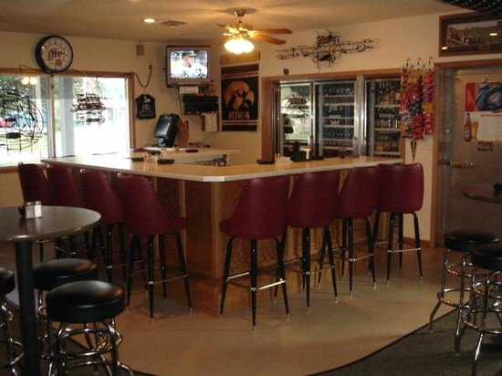 West Liberty, IA: Our bar area