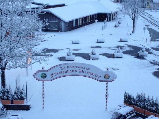 Travel Charme Fürstenhaus am Achensee: Biergarden