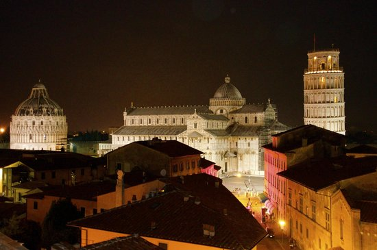 Grand Hotel Duomo: View from terrace and room