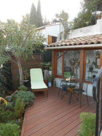 Au Jardin de Victorine : Terrasse