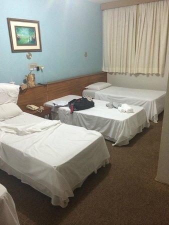 Hotel Cassino Iguassu Falls: Quarto