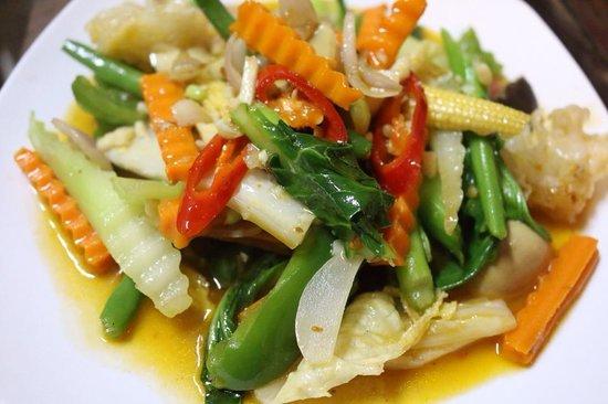 Mr Grill Restaurant: Fried Mix Vegetable