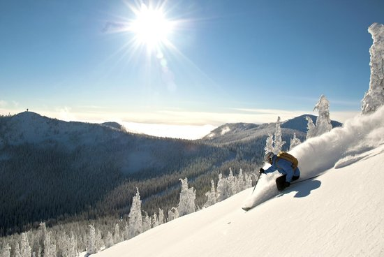RED Mountain Resort : Wide open terrain, perfect powder and sun....