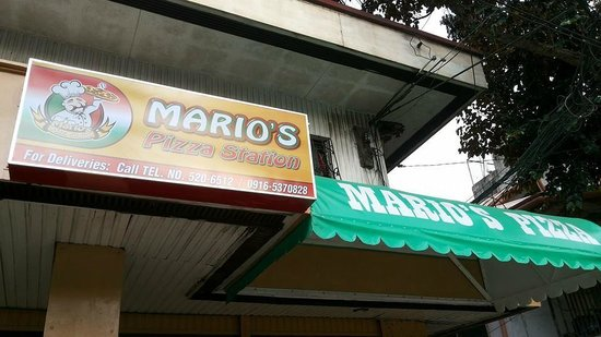 Mario's Pizza Station: Front
