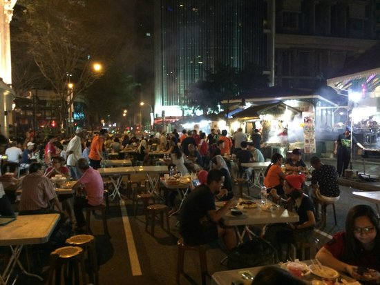 Outdoor Satay Club Picture Of Lau Pa Sat Singapore