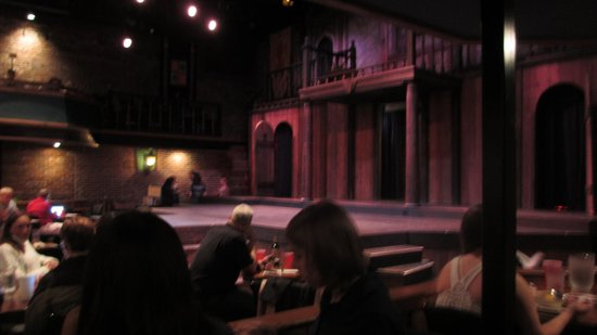 The Shakespeare Tavern Playhouse: Stage