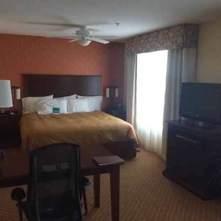 Homewood Suites Denver International Airport: Spacious room!
