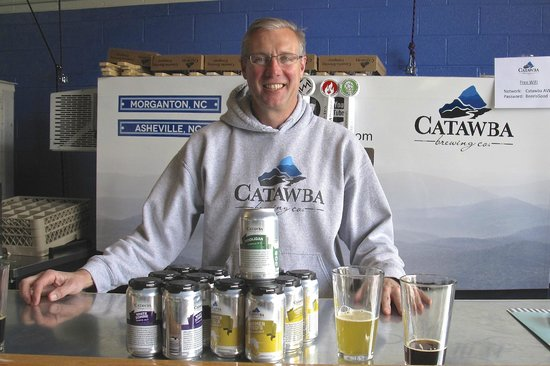 Catawba Brewery Tasting Room