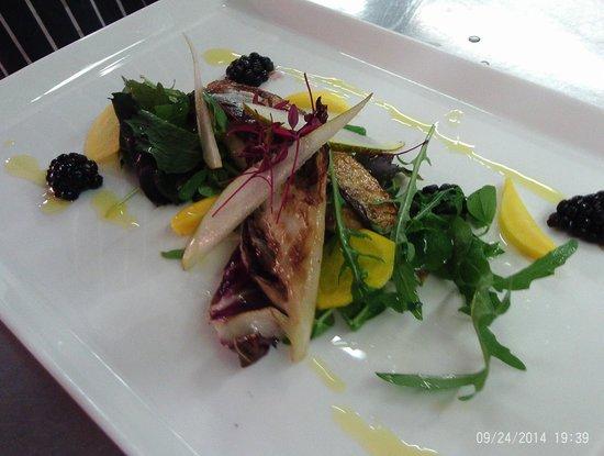 The Potters Club: Mackerel salad