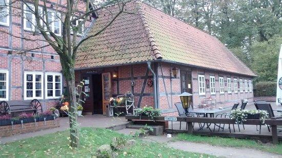 "Gasthaus Zum Heidemuseum: Lokal mit ""Hundebar"""