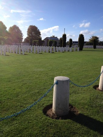 British War Cemetery: So many brave young men!