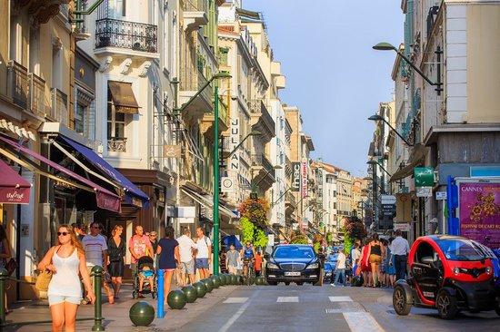 Rue d'Antibes © Palais des Festivals et des Congrès de Cannes/Fabre