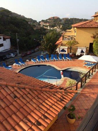 Rio Buzios Beach Hotel : vista da piscina