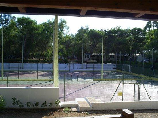 Camping Santa Maria di Leuca : Campetti sportivi