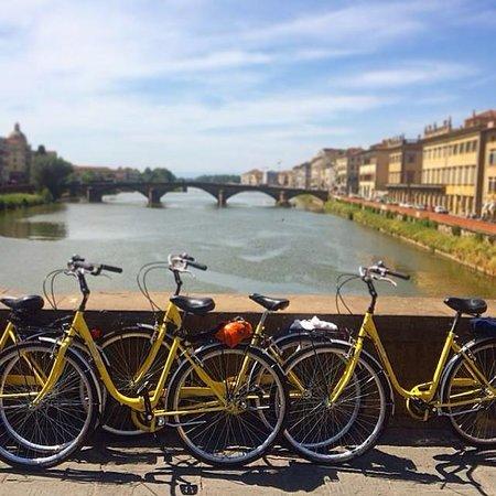 Florence op de Fiets