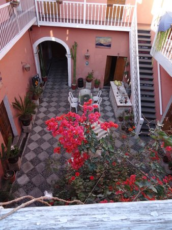 Posada Nueva Espana : View from dining area and rooms