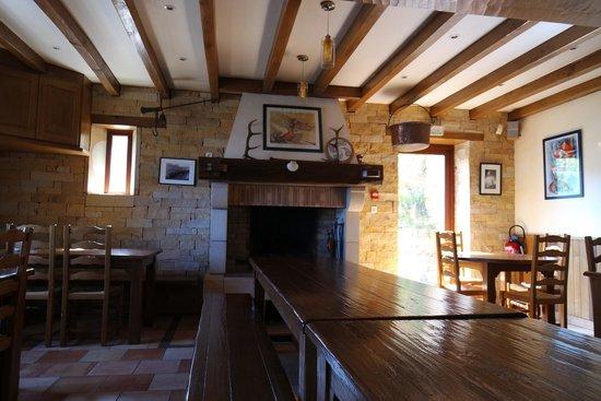 Refuge Orisson: dinner room
