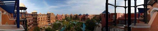 The Grand Resort Hurghada: Vue panoramique de l'hôtel