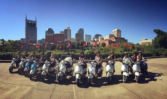 Nashville Scooter Tours: October 2014 scooter tour
