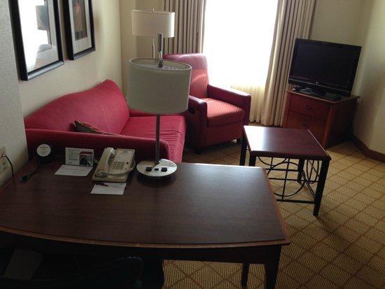 Residence Inn Tampa Westshore/Airport: Living Room