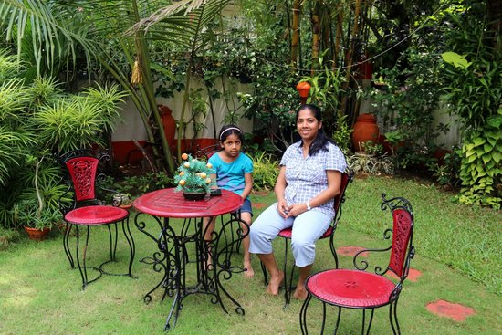 Colonel's Homestay: Relaxing area