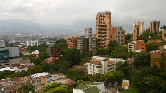 Diez Hotel Categoria Colombia: Room with a view...
