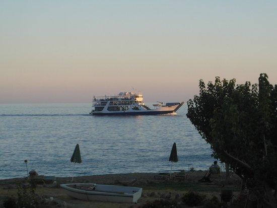 IOS Paleochora: The coastal ferry heading for Paleochora