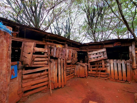 Anselm's Kitengela Hot Glass: Stables at Nanis