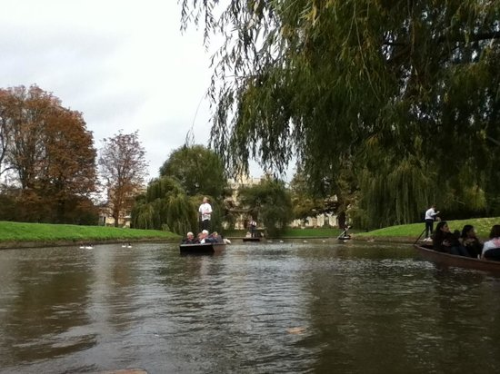 Lets Go Punting: Relaxing