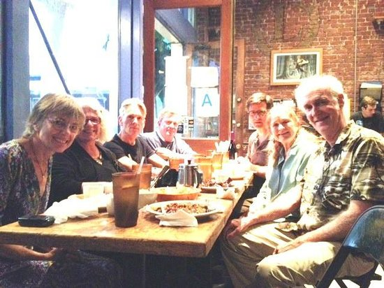 Cathy and friends at Mao\'s Kitchen, Venice Beach, California ...