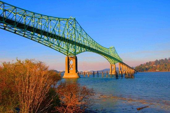 North Bend, OR: Historic McCullough Bridge