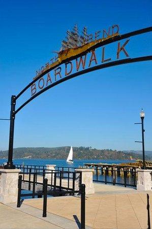 North Bend Boardwalk