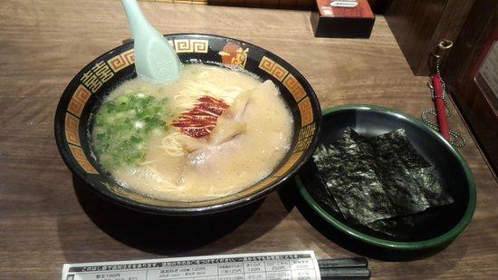 Ichiran Hiratsuka-branch: 海苔増し