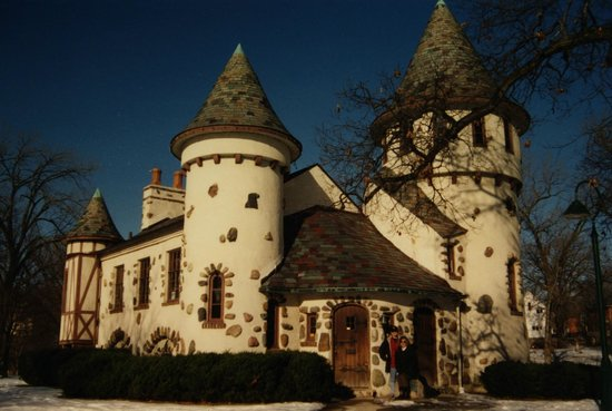 Curwood Castle with my sister