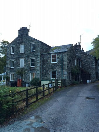Grisedale Lodge from down the lane