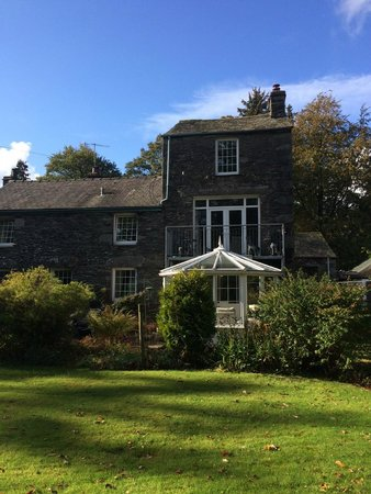 Grisedale Lodge : Conservatory at rear of Lodge