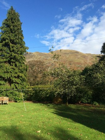Grisedale Lodge : View of fells from conservatory