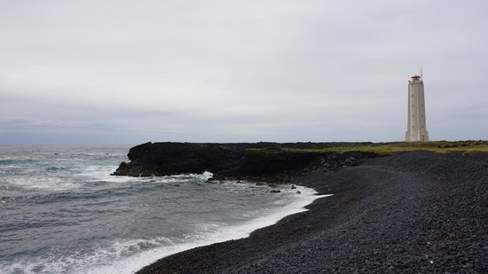 Hellissandur, Island: Пляж