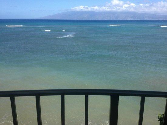 Kahana Reef : View from balcony