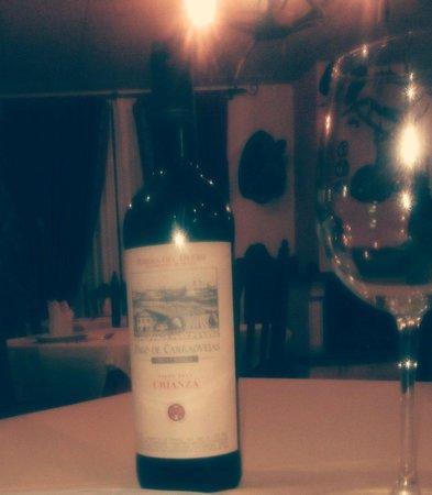 Hotel Sierra de Ubrique: Excelentes Riojas!!